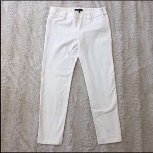 Vince Sz 4 off white/cream ankle pants NWT